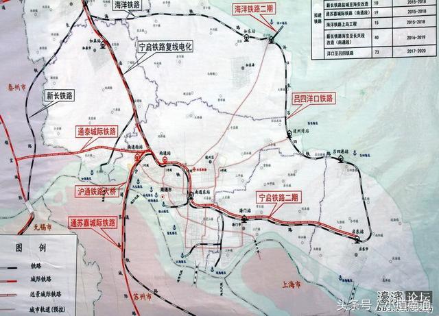 南通铁路大外环来了!要把洋口港、通州湾、吕四港串起来!