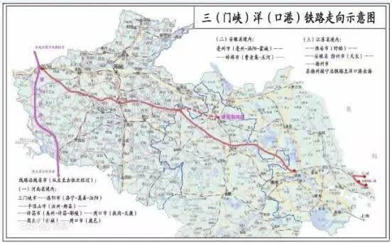 洋口港福音:投资360亿!三洋铁路连接中西部的大通道