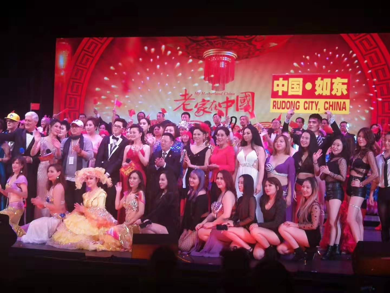 江苏如东杂技团的杂技《肩上芭蕾》获2020年世界华人春晚金奖